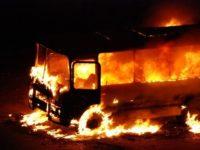 В автобусе заживо сгорело более 50 мигрантов